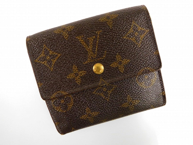 [ルイヴィトン] LOUIS VUITTON 二つ折り財布 モノグラム PVC×レザー X11329 中古 B01EWSKDVG