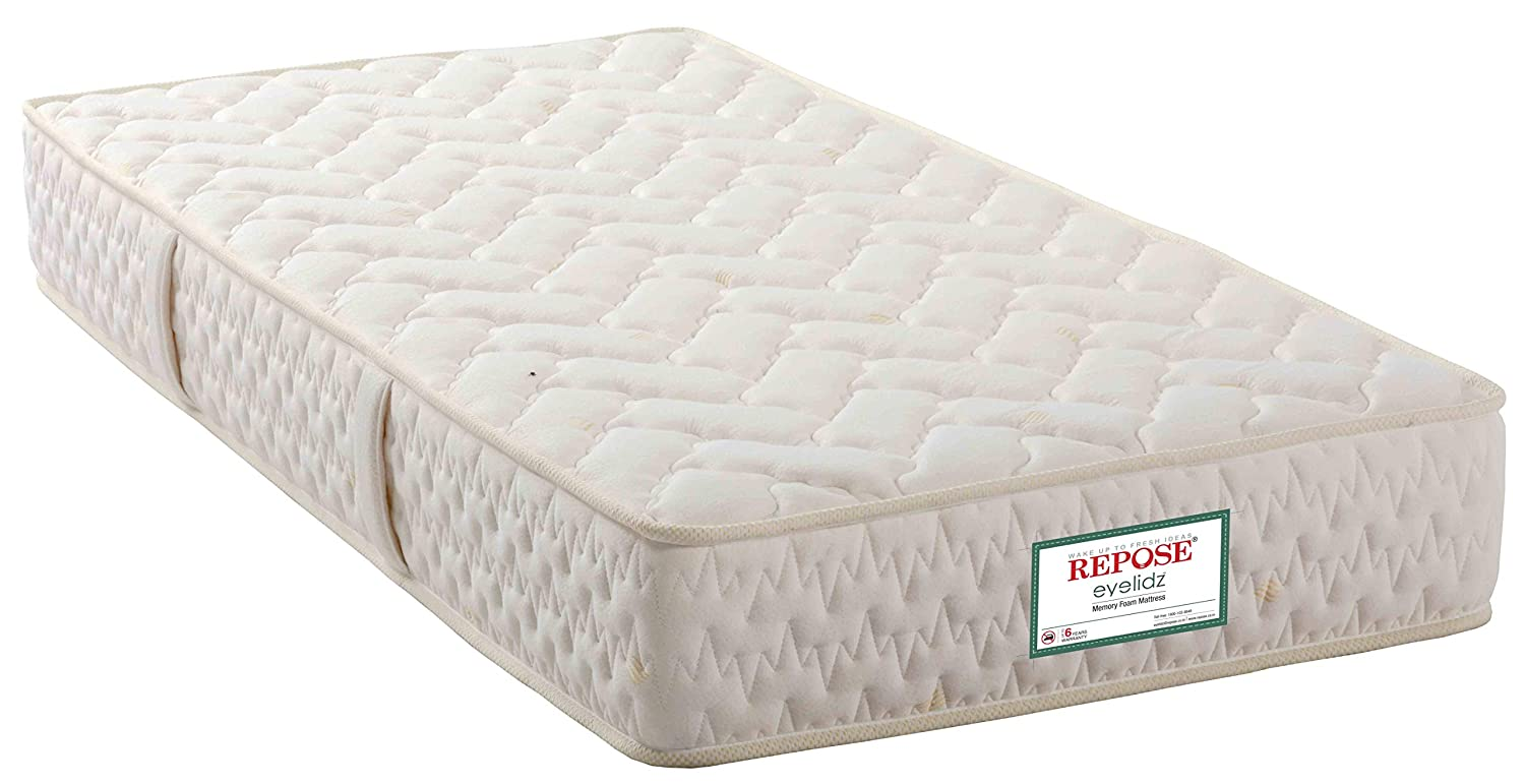 Repose eyelidz 6-inch Single Size Memory Foam Mattress