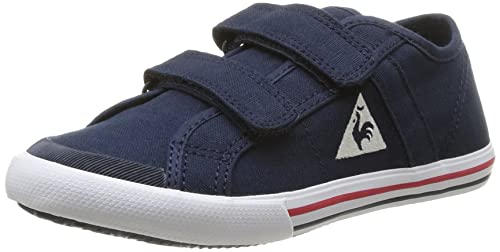 Le Coq Sportif Saint Malo PS Strap - Zapatillas de Deporte de Canvas para niño Azul Bleu (Dress Blues) 28: Amazon.es: Zapatos y complementos