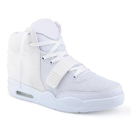 Fusskleidung - Zapatillas altas Hombre , color blanco, talla 45 EU: Amazon.es: Zapatos y complementos