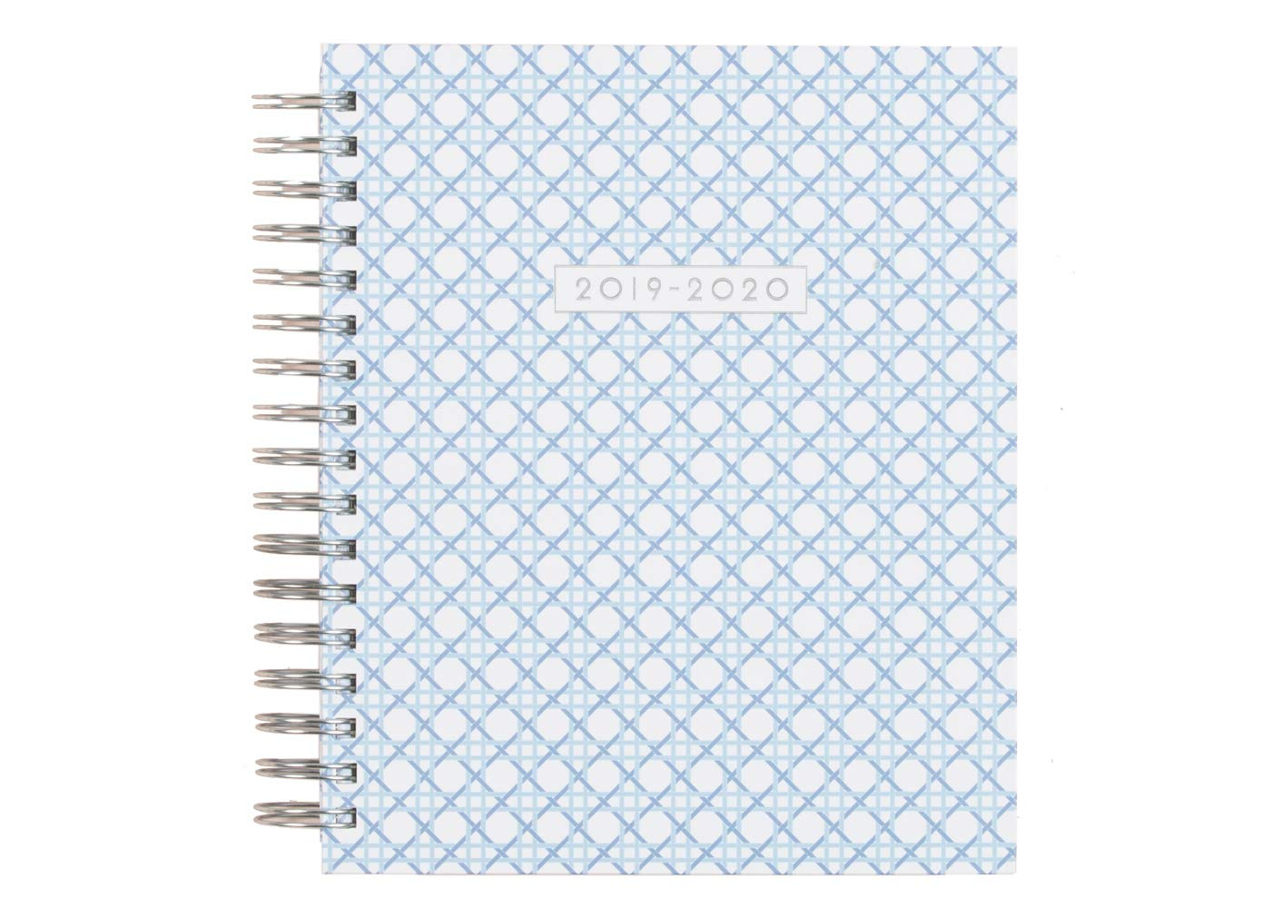 Dabney Lee for Blue Sky 2019-2020 Academic Year Daily & Monthly Planner, Hardcover, Silver-Tone Twin-Wire Binding, 7'' x 9'', Cane