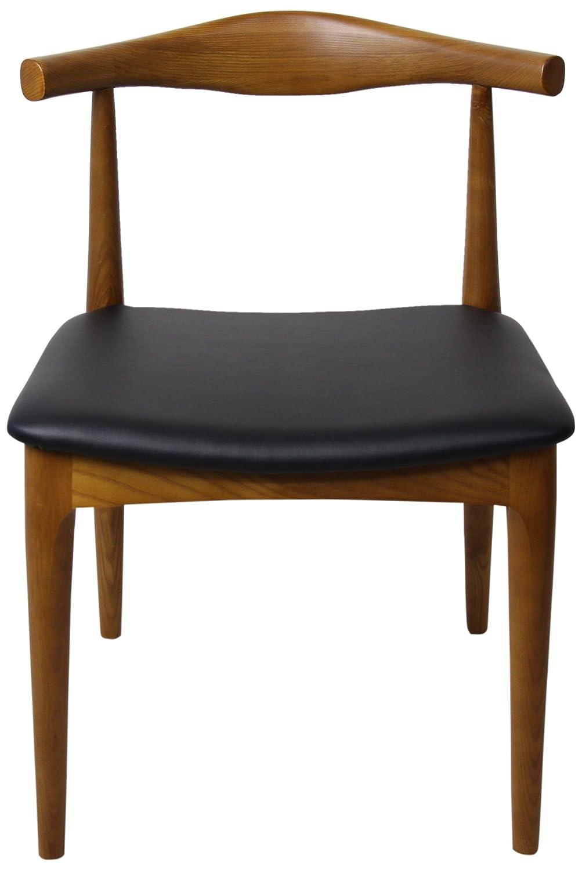 Hans Jorgensen Wegner The Elbow Chair Square(エルボーチェア スクエア) ブラウン 38019306 B007SUF9EW ブラウン ブラウン
