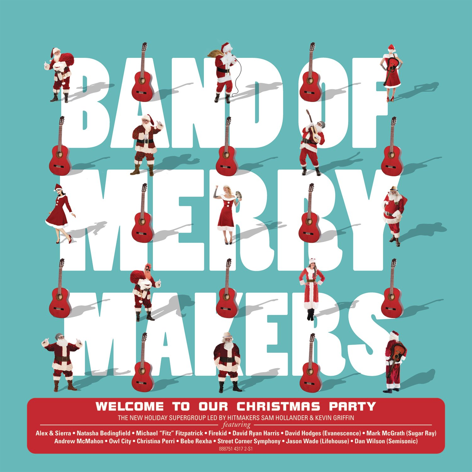 CD : Band Of Merrymakers - Welcome to Our Christmas Party (CD)