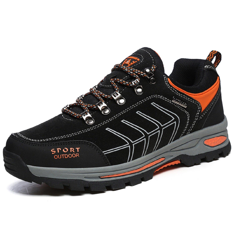 NEOKER Scarpe da Trekking Uomo Donna Arrampicata Sportive All'aperto Escursionismo Sneakers Army Green Blu Nero Grigio 36-48 1301