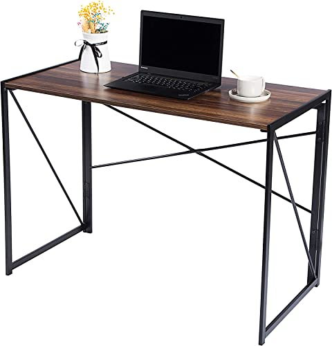 Homewell Computer Desk Foldable Table 40″ W x 20″ D