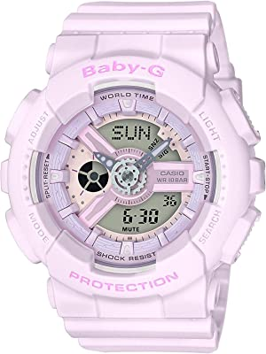 Casio Baby-G G-Shock BA-110 Series BA110-4A2 46.3mm Resin Women's Watch (Pink)