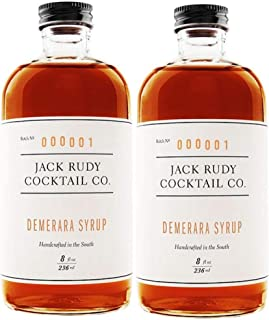 product image for Jack Rudy Demerara Syrup (8 ounce, 2 Pack)