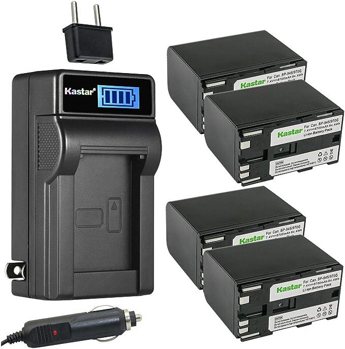 Cargador De Batería Para Canon MV10 MV10i MV20 MV20i MV100 MV100i MV200 MV200i Optura
