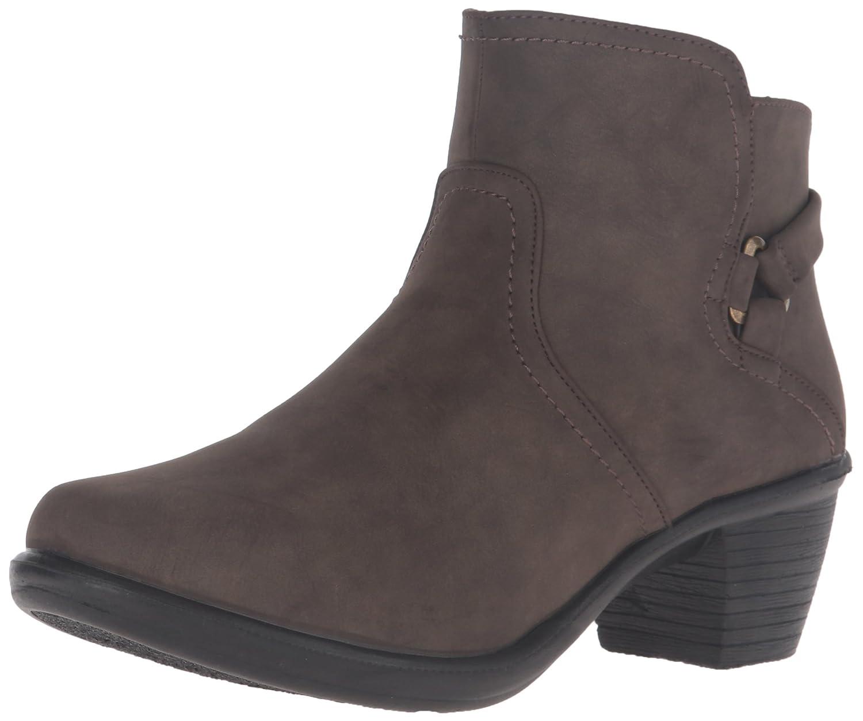 Easy Street Women's Dawnta Ankle Bootie B01JQJQE5A 6.5 2A(N) US Smoke Matte