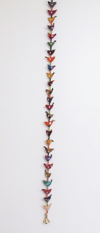 Paper High 30-Bird da Appendere in Stile Tradizionale Indiano Decorazione da Appendere