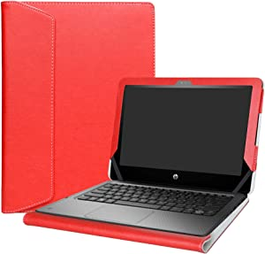 """Alapmk Protective Case Cover For 11.6"""" HP ProBook x360 11 G1 EE / G2 EE /G3 EE / G4 EE Series Laptop(Warning:Not fit HP other 11.6 inch Laptop),Red"""