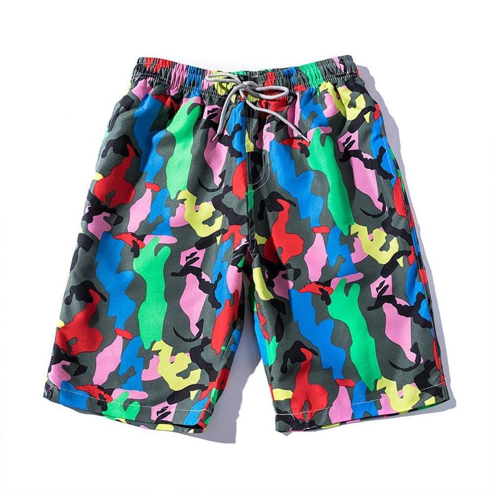 Kaxima Sommer lässig Mans Strand Hose große Unterwäsche Casual Pants Man