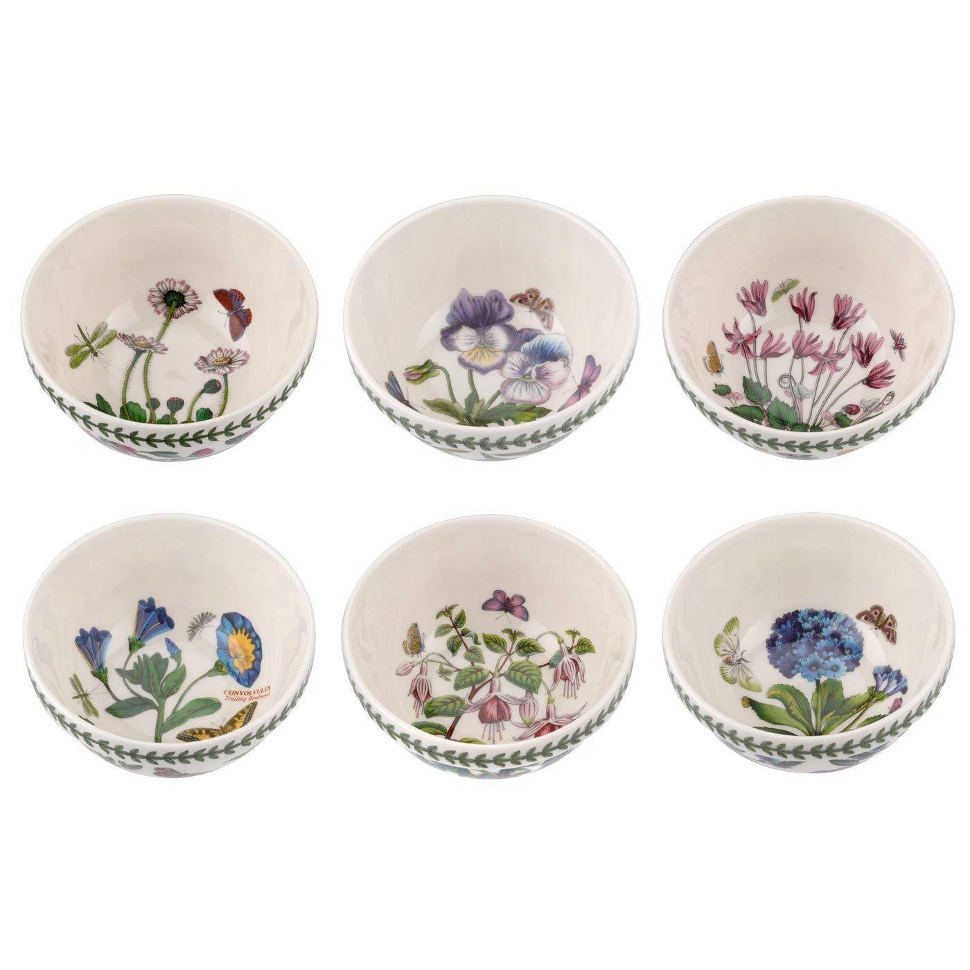 Portmeirion 647602 Botanic Garden Stacking Bowl, 5.5'' White