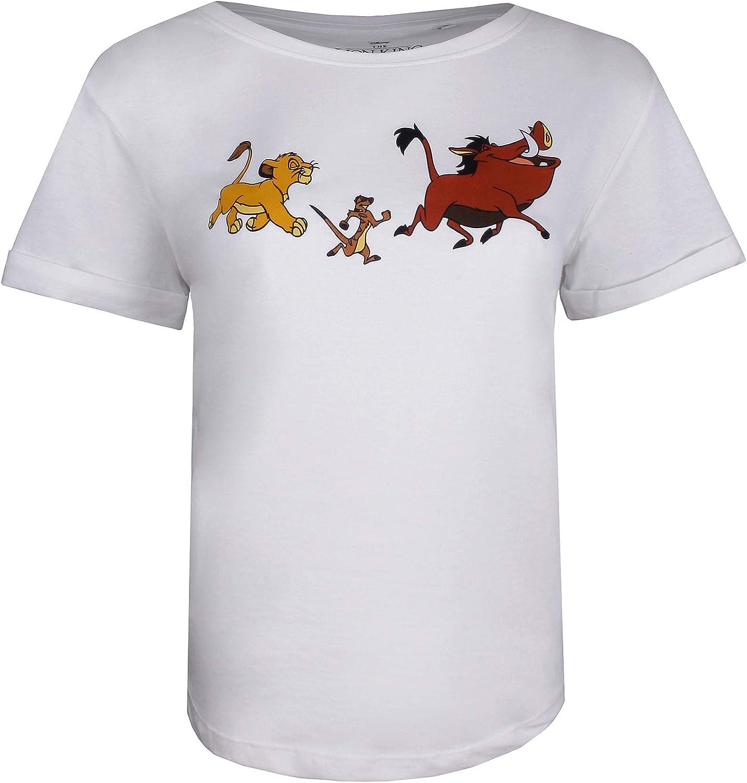 Disney Lion King Trio Camiseta para Mujer