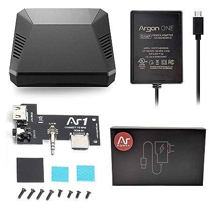 Argon One - Carcasa para Raspberry Pi 3 B+ y B Case + 5.25 V ...