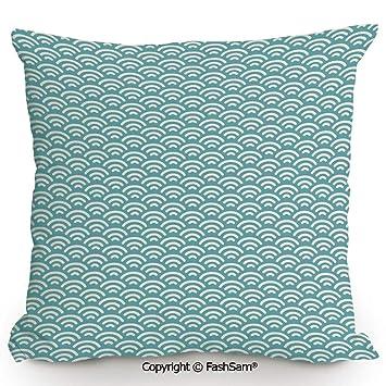 Amazon.com: FashSam - Funda de almohada decorativa, diseño ...