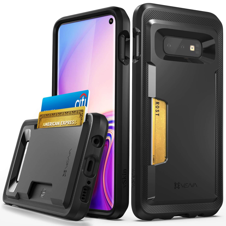 Galaxy S10e Card Case, Vena [vSkin] Slim Protection TPU