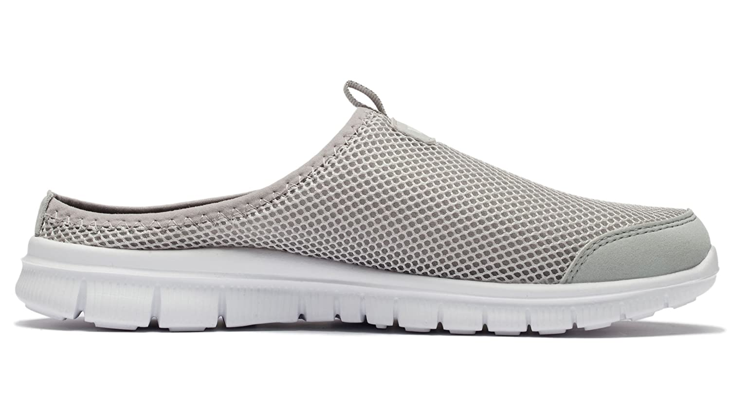 mens breathable mesh anti slip outdoor backless shoes