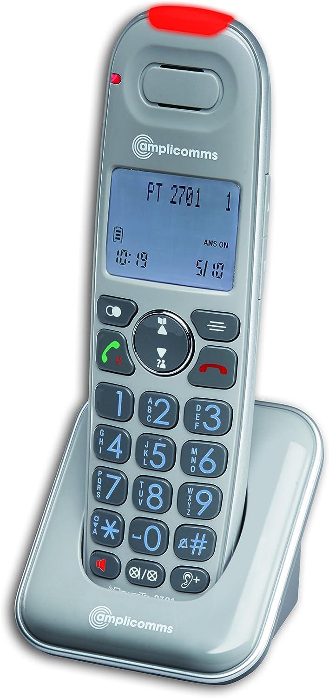 Amplicomms Powertel 2701 Schnurloses Seniorentelefon Elektronik