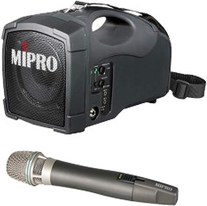 MIPRO Altavoz Micr/ófono MA-101C