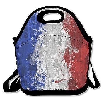 Francesa Bandera Libre Al Aire Almuerzo Casual Bolsa Lonchera De SUVqzpM