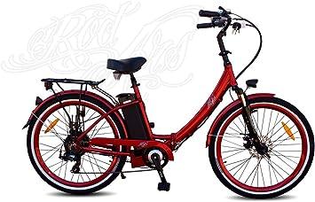Rodars eBike Pedelec Bicicleta Eléctrica de Ciudad Cuadro Abierto ...