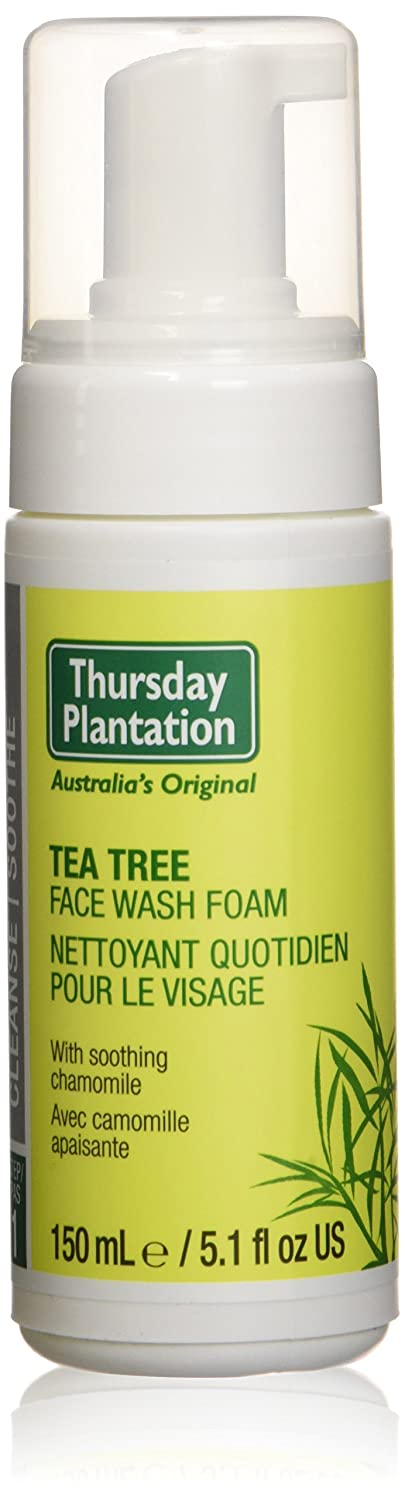 Nature's Plus, Thursday Plantation, Face Wash Foam, Tea Tree, 5.1 fl oz (150 ml) by Nature's Plus Nature' s Plus Thursday Plantation Teatree 0717554080777