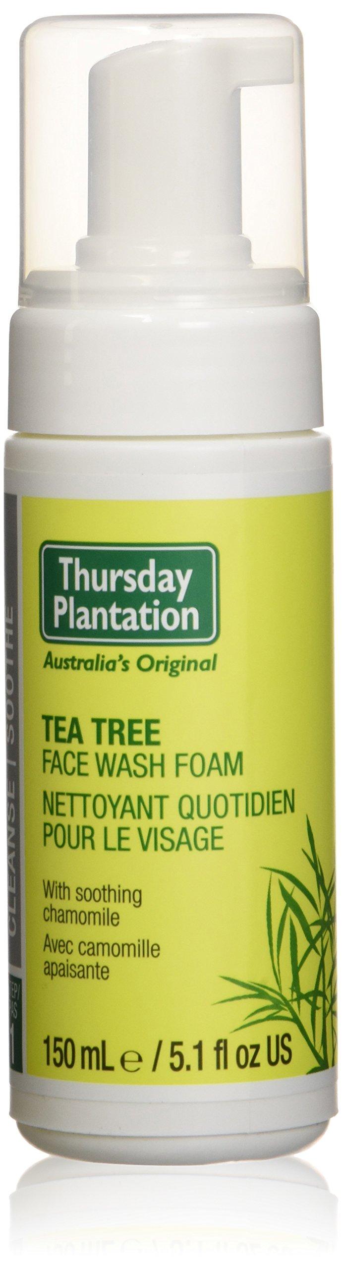Tea Tree Face Wash Foam Thursday Plantation 5.1 fl oz Liquid