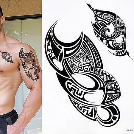 tzxdbh 5 Piezas de Tatuaje Nuevo 3D Realista Impermeable de ...