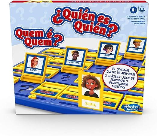 Hasbro Gaming Quién es quién Extra (B2226175): Amazon.es: Juguetes ...