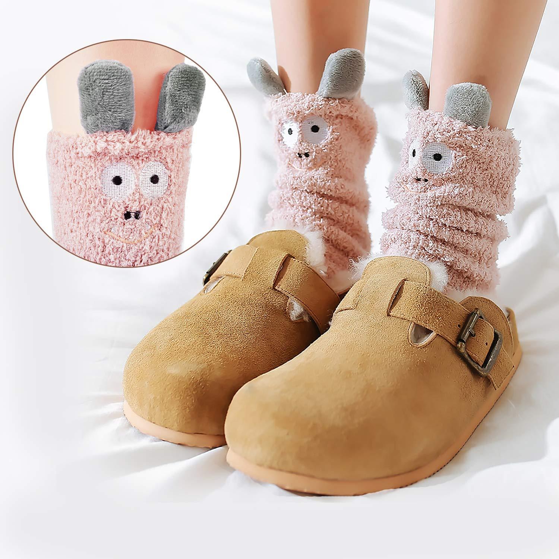 4a387a585f4 Amazon.com  Women Fuzzy Socks