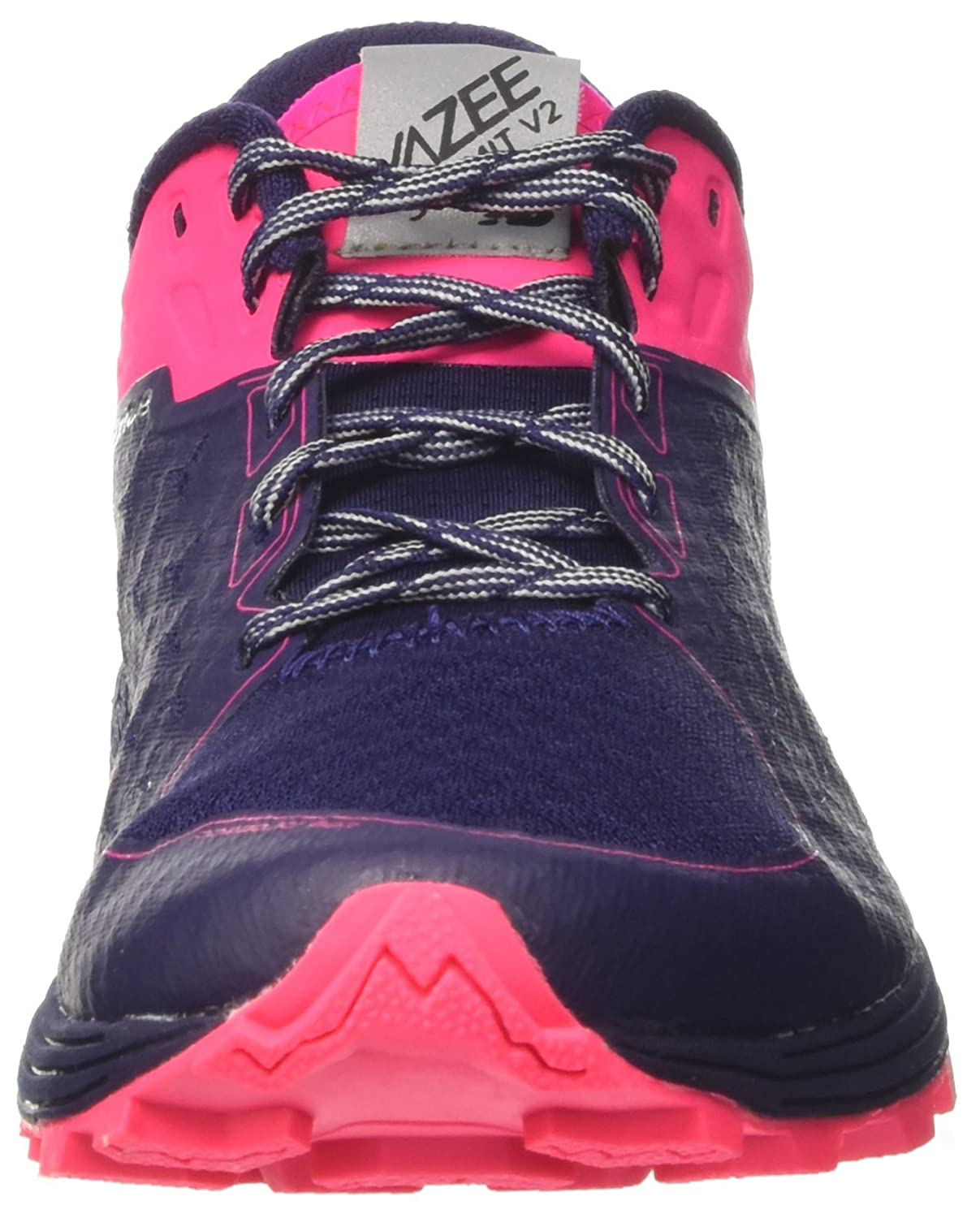 New Balance Women's Vazee Summit V2 Running Shoe Trail Runner Denim/Alpha B01LYA9RKK 5 D US|Dark Denim/Alpha Runner Pink 6ec2ec