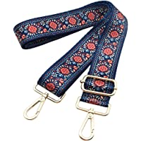 Bag Straps Replacement Guitar Strap Adjustable Wide Strap For Purse Travel Bag