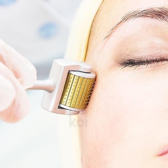 Koi Beauty 192 Facial Derma Roller Rodillo Rollo 0.5mm de Micro Agujas para Piel Cara: Amazon.es: Belleza