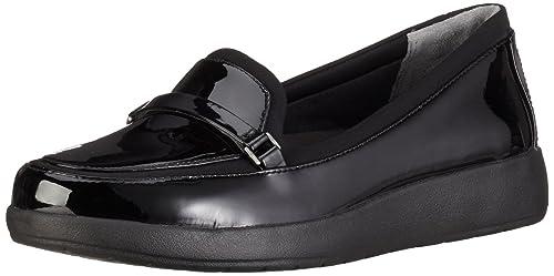 Rockport Devona Dreda Strap Loafer, Mocasines para Mujer, Negro (Black Patent), 41 EU: Amazon.es: Zapatos y complementos
