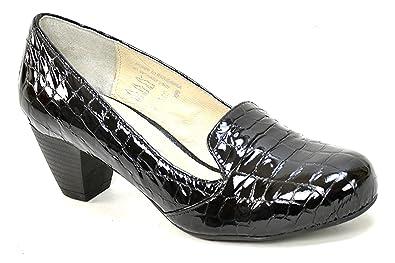 e9c4959b97 OGSwideshoes Francesca Serpente Extra Wide Fit Formal Shoes, C D 3E XXW  Width
