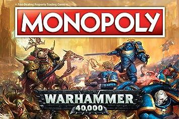 Warhammer 40k 40 000 Monopoly Juego De Mesa Ingles Amazon Es