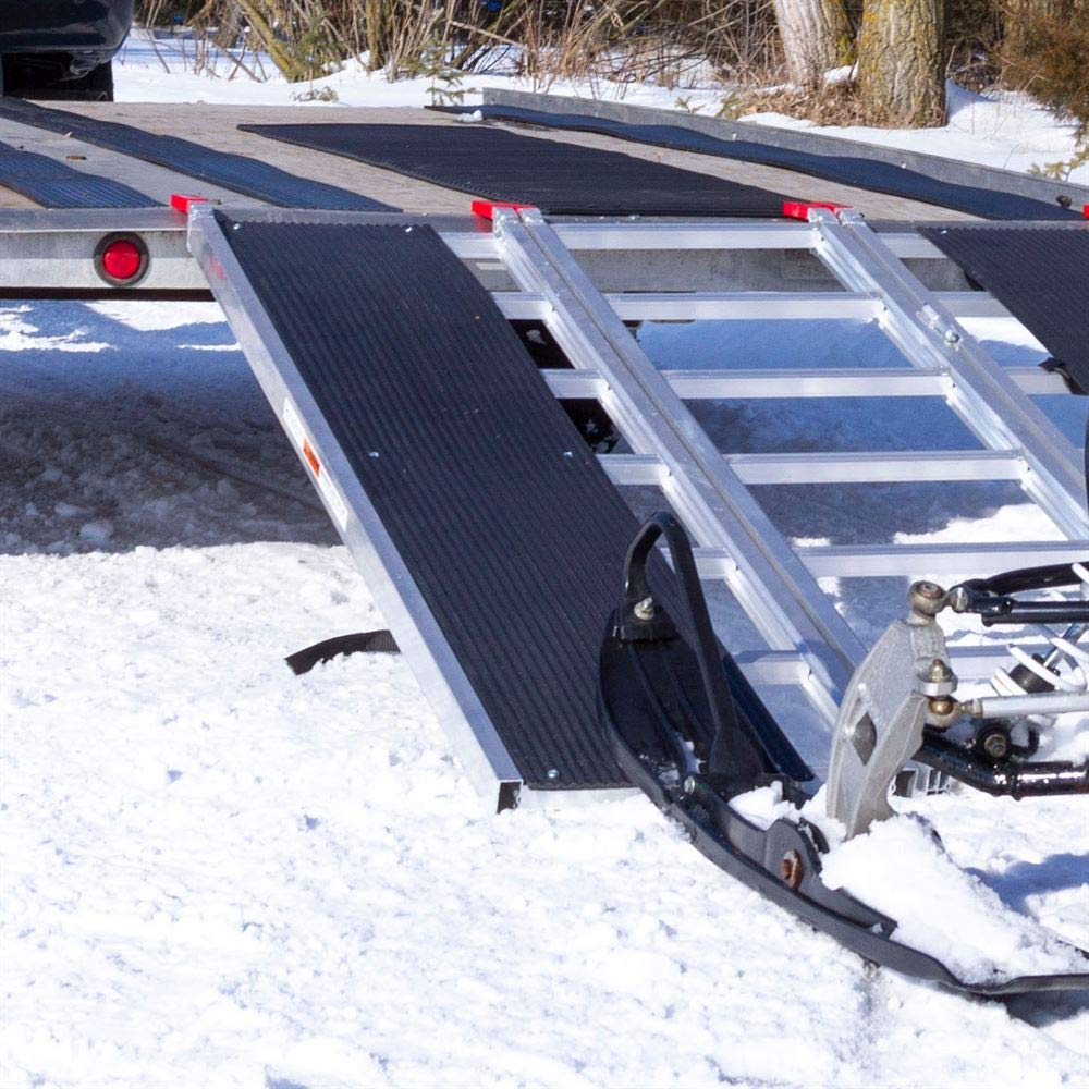 Rage Powersports 60 x 54 Snowmobile Loading Ramp with Center Extension Track
