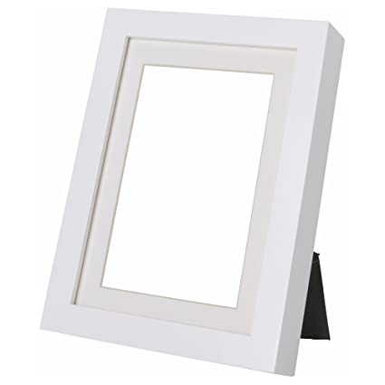 Amazon.com - Ikea Ribba White 8 X 10 Picture Frame -