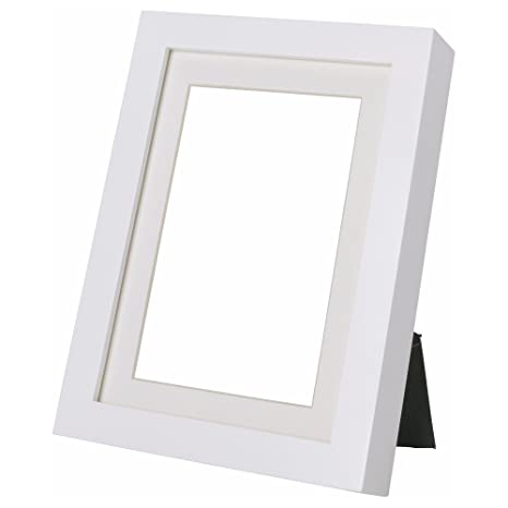Amazoncom Ikea Ribba White 8 X 10 Picture Frame