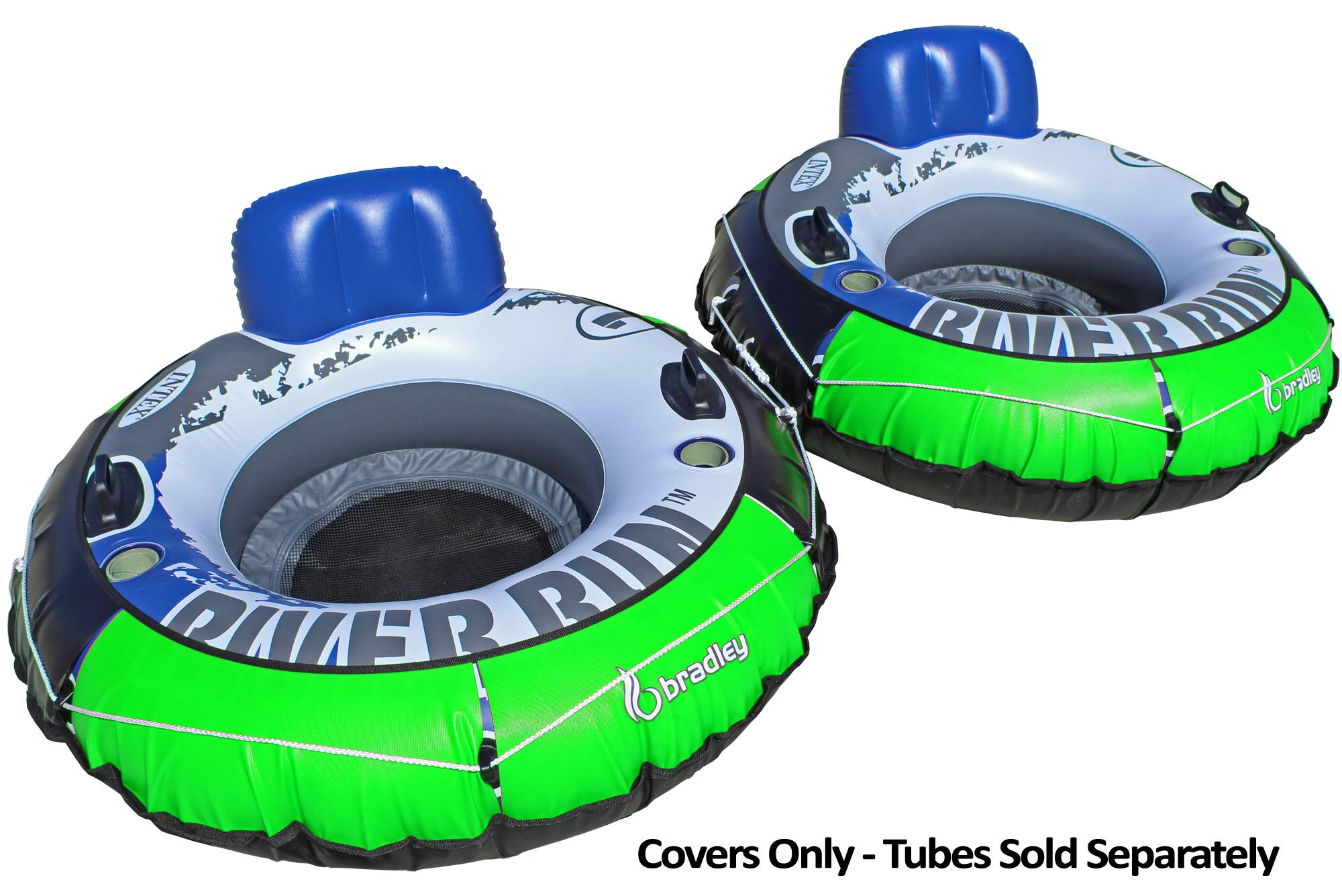 Bradley Heavy Duty River Tube Cover Only | Compatible with Intex River Run & Most 53'' Inflatable River Tube by Bradley
