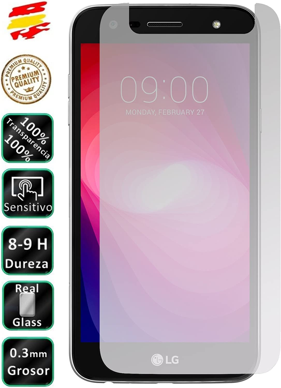Movilrey Protector para LG X Power 2 Xpower II Cristal Templado de ...