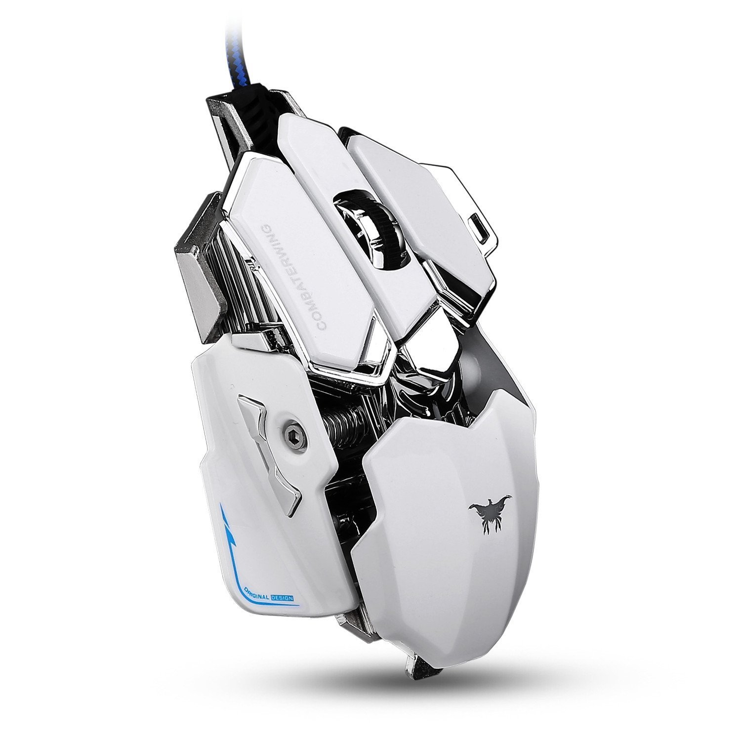 Combaterwing Gaming Mouse 4800 DPI Aluminum Base