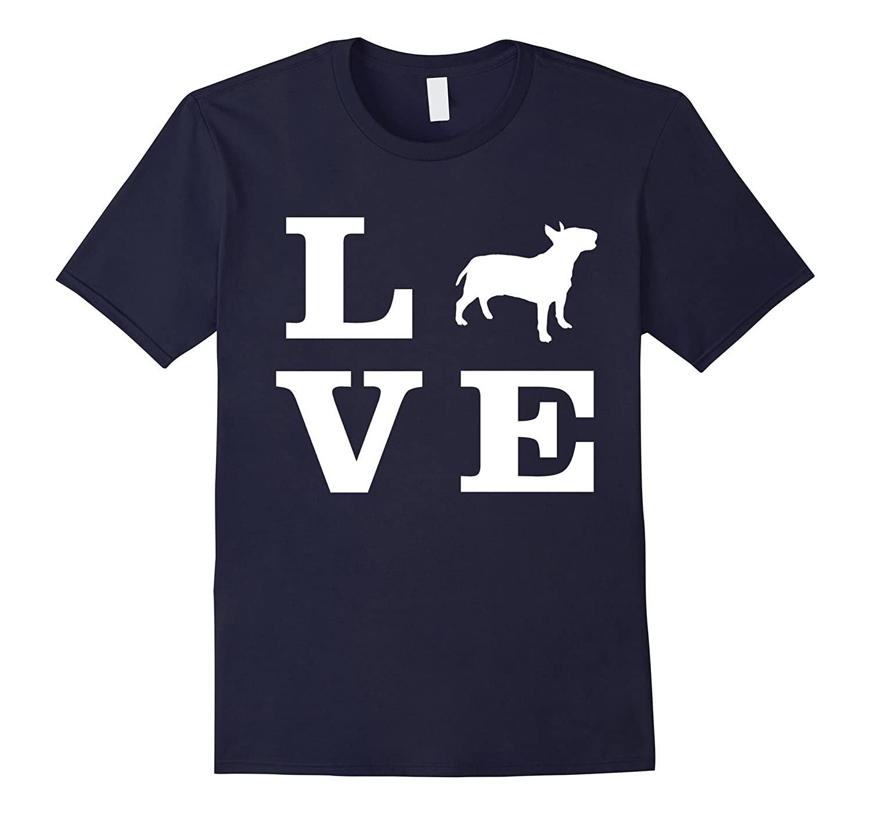 I Love Bull Terrier T-Shirt-Art