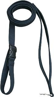 "product image for Hemp Canvas Basic Leashes (1"" City Clicker, Black)"