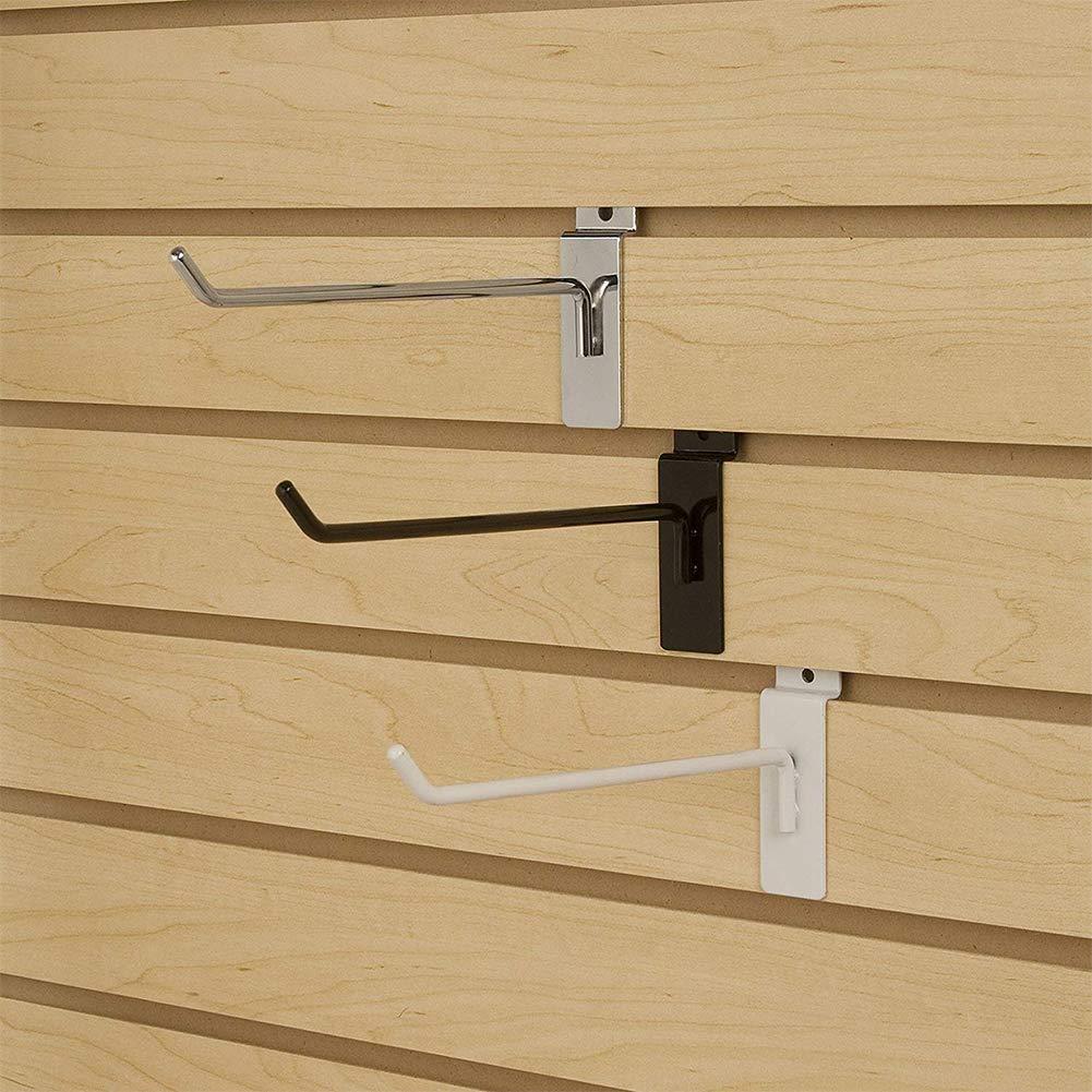 /INCREWAY 18 paquetes de ganchos de pared de listones de 3 tama/ños productos de venta al por menor y exposici/ón ganchos para panel