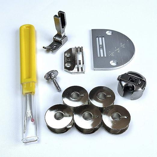 11 piezas para máquina de coser Juki Ddl-127 5550 8300 8500 Consew ...