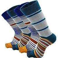 Teensokken Heren Sportsokken Vijf Vingersokken Katoenen Sneaker Sokken met 5 tenen, Toe Socks for Men, EU39-44, 3/4/5…