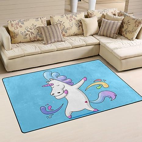 Amazon.com: naanle gracioso unicornio antideslizante ...