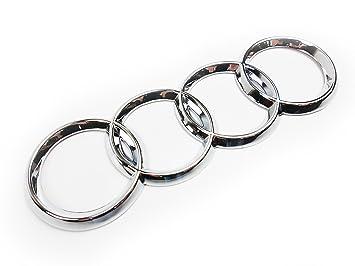 Trasera para portón trasero cromado anillos insignia emblema 4e0853742: Amazon.es: Coche y moto